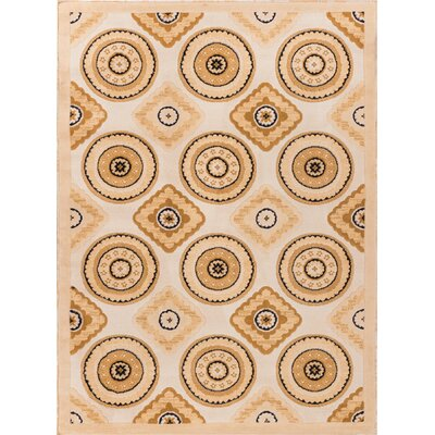 Dulcet Verisimo Formal Ivory Area Rug by Well Woven