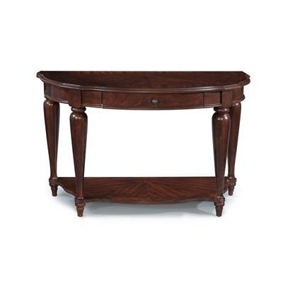 Heritage Point Demilune Console Table by Magnussen