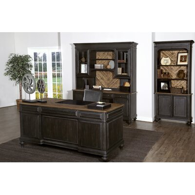 Barnhardt 5-Piece Standard Desk Office Suites by Magnussen