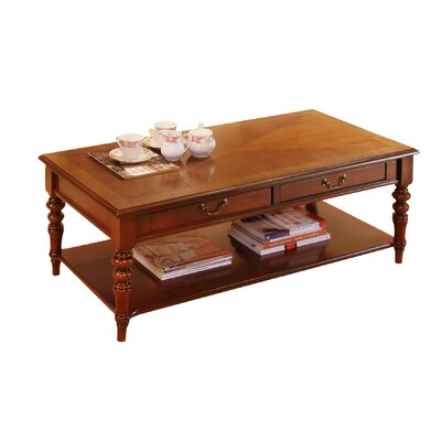Prestington mahogany coffee table with magazine rack for Table locks acquired immediately 99