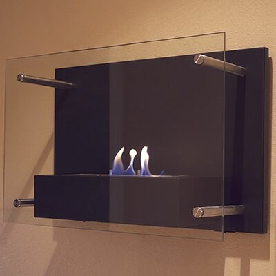 Radia Wall Mounted Bio Ethanol Fuel Fireplace by Nu-Flame