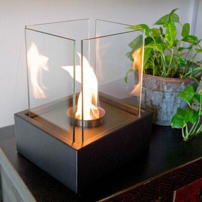 Lampada Freestanding Bio Ethanol Fuel Fireplace by Nu-Flame