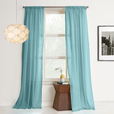 Hyannis Solid Single Curtain Panel Product Photo