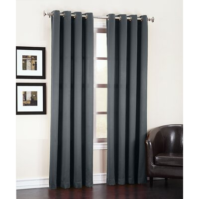 Groton Room Darkening Grommet Single Curtain Panel Product Photo