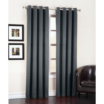Groton Room Darkening Grommet Single Curtain Panel Product Photo