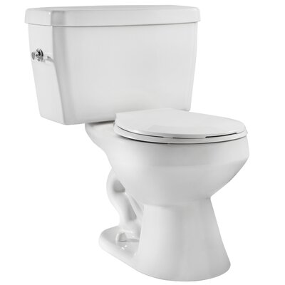 EcoLogic 1.6 GPF Elongated Toilet Product Photo