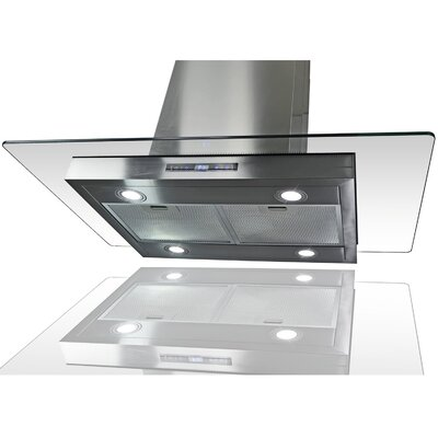 """36"""" Convertible Island Range Hood in Stainless Steel Product Photo"""