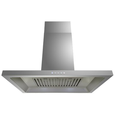 29.5' Convertible Wall Mount Range Hood in Stainless Steel Product Photo