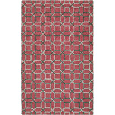 Bowery Havemeyer Crimson/Brown Area Rug by Couristan