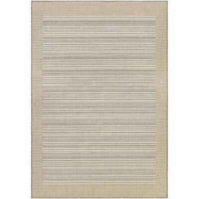 Monaco Bowline Cocoa Natural/Ivory Indoor/Outdoor Area Rug by Couristan