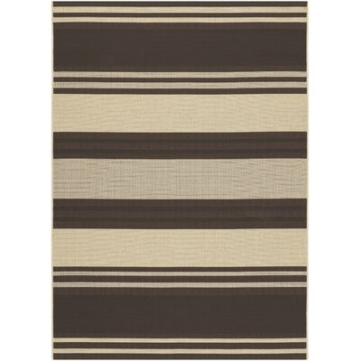 Five Seasons South Padre Chocolate Indoor/Outdoor Area Rug by Couristan