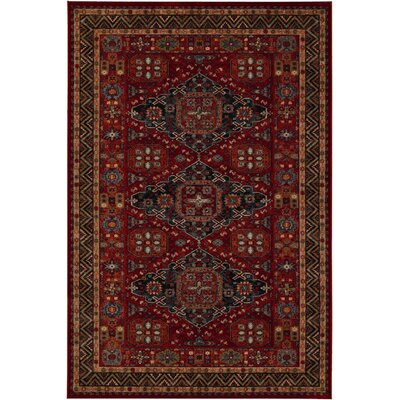 Old Word Classics Kashkai Burgundy Area Rug by Couristan