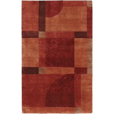 Pokhara Aurora Red Miso Area Rug by Couristan