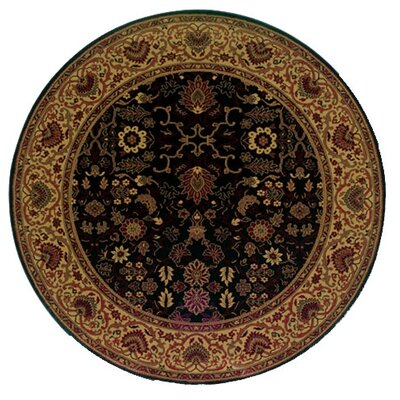 Couristan Everest Tabriz/Midnight Area Rug