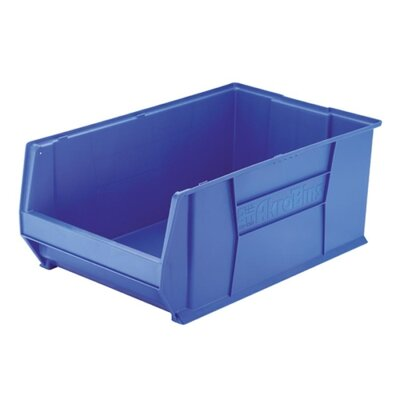 Super-Size Storage Bin, Stackable, Blue, 2 Sizes by Akro Mils