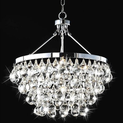 Ceres 5 Light Crystal Chandelier Product Photo