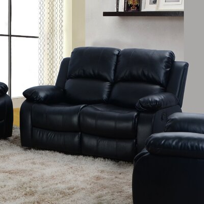 Beverly Fine Furniture QRMG1041 Denver Reclining Loveseat