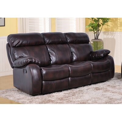Beverly Fine Furniture QRMG1004 Omaha Reclining Sofa