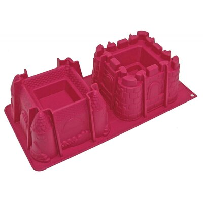 100% Platinum Silicone Castles Mold by ScrapCooking