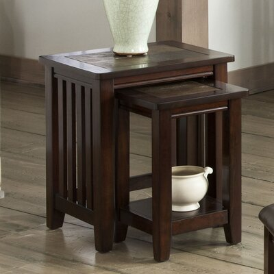 Napa Valley 2 Piece Nesting Tables by Standard Furniture