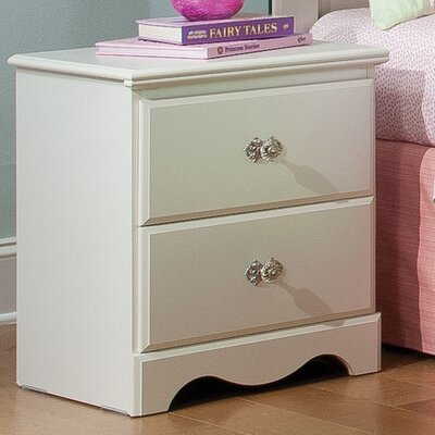 Standard Furniture Daphne 2 Drawer Nightstand 65557