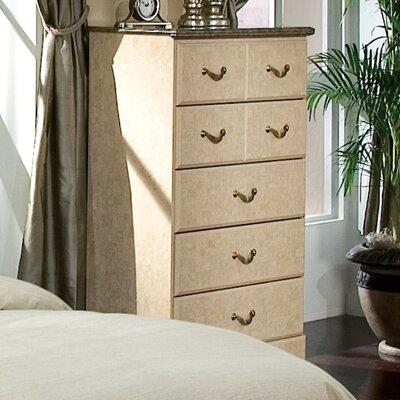 Florence 5 Drawer Chest by Standard Furniture