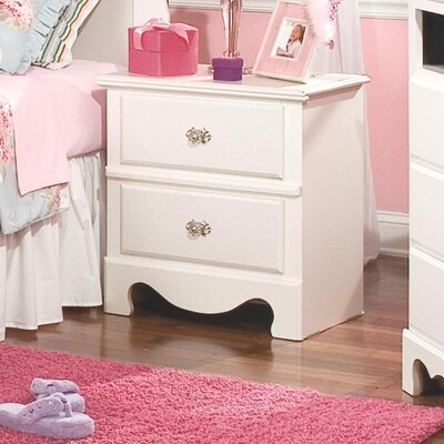Standard Furniture Spring Rose 2 Drawer Nightstand 50257