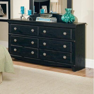 Carlsbad 6 Drawer Dresser with Mirror by Standard Furniture
