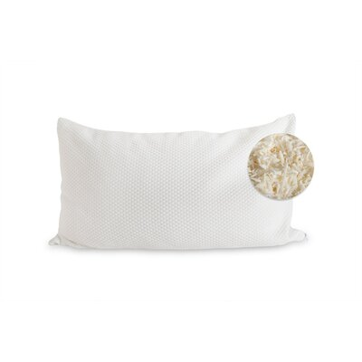 Natural Shredded Latex Pillow by eLuxury Supply