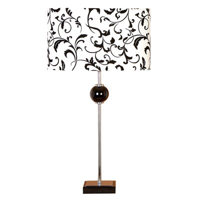 "Cole & Grey Loft 27"" H Table Lamp with Oval Shade"
