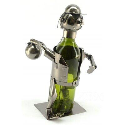 Bowler 1 Bottle Tabletop Wine Rack by Three Star