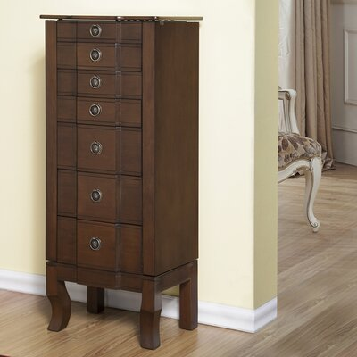 6 Drawer Jewelry Armoire by CTE Trading