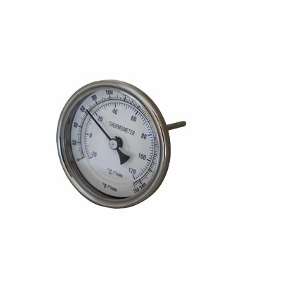 Stainless Steel Thermometer by Concord