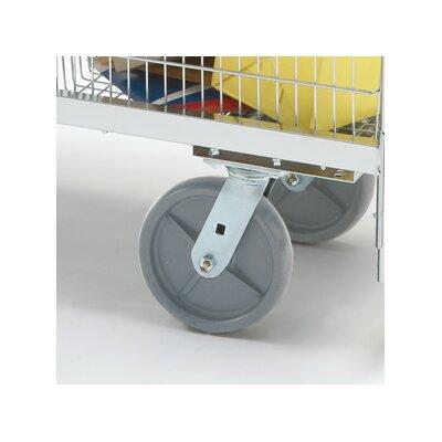 Premium Grey Heavy Duty Swivel Plate Caster by Charnstrom