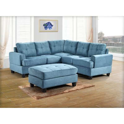 Symmetrical Sectional by Glory Furniture