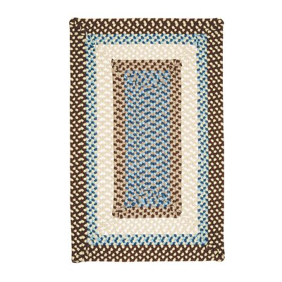 Colonial Mills Montego Border Bright Brown Kids Rug