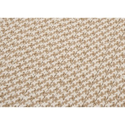 Colonial Mills Outdoor Houndstooth Tweed Cuban Sand Rug