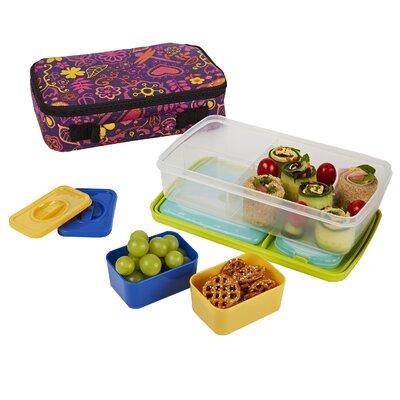 fit fresh bento 6 piece lunch box set reviews wayfair. Black Bedroom Furniture Sets. Home Design Ideas