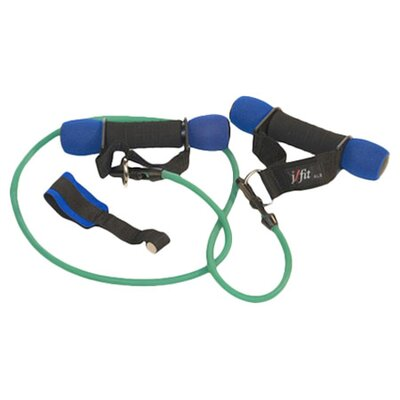 J Fit 3 lbs Heavy Handles with Medium Resistance Tubing