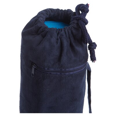 J Fit Yoga Mat Bag in Navy Suede