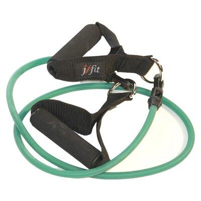 J Fit Medium Resistance Tubing with Handles