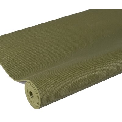 Premium Yoga Mat in Olive by J Fit