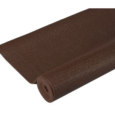 Premium Yoga Mat in Coffee by J Fit