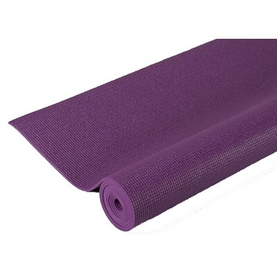 Extra Thick Pilates Yoga Mat in Purple by J Fit