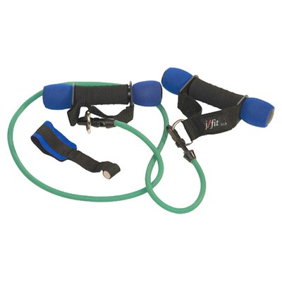 J Fit 2 lbs Heavy Handles with Medium Resistance Tubing