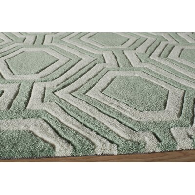 Bliss Hand-Tufted Sage Area Rug by Momeni