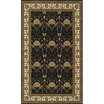 Persian Garden Charcoal Area Rug by Momeni