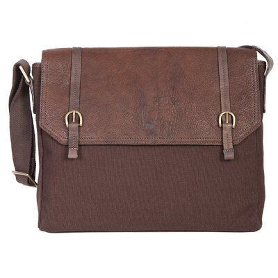 Presley Leather Briefcase by Scully
