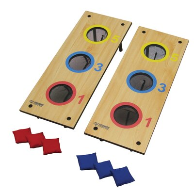 Advanced 2 in 1 3-Hole Bag Toss/3-Hole Washer Toss by Triumph Sports USA