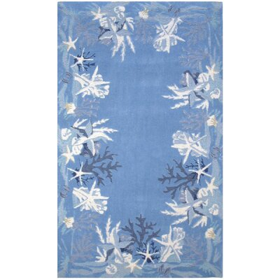 Sea Star Blue Rug by Homefires